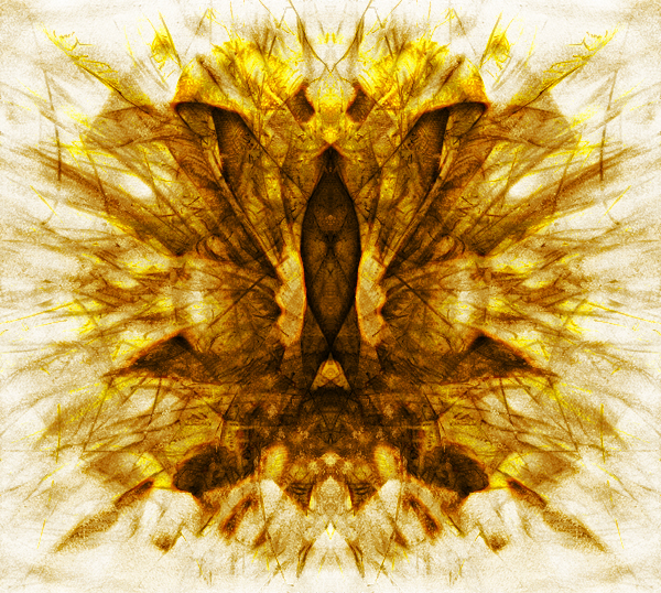 The aartt process throws off many strange phenomena. For me it does, at least. Heres a butterfly, shining with Aurum Nostrum...