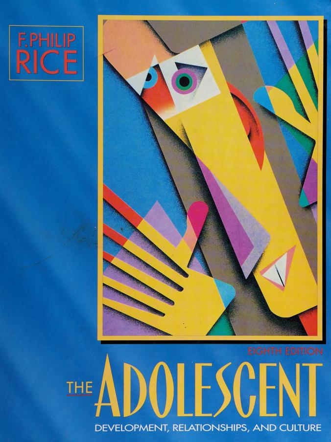The adolescent by F. Philip Rice