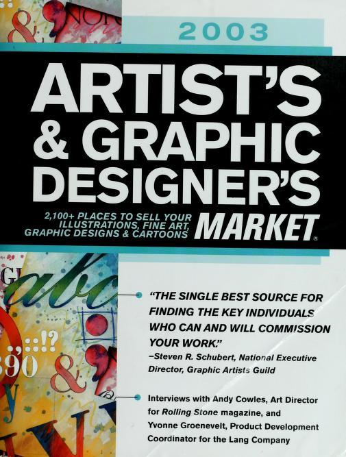 Artist's & graphic designer's market by