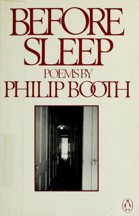 Before sleep by Philip E. Booth