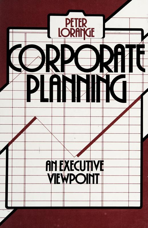 Corporate planning by Peter Lorange