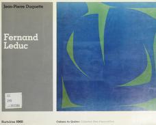 Cover of: Fernand Leduc | Jean Pierre Duquette