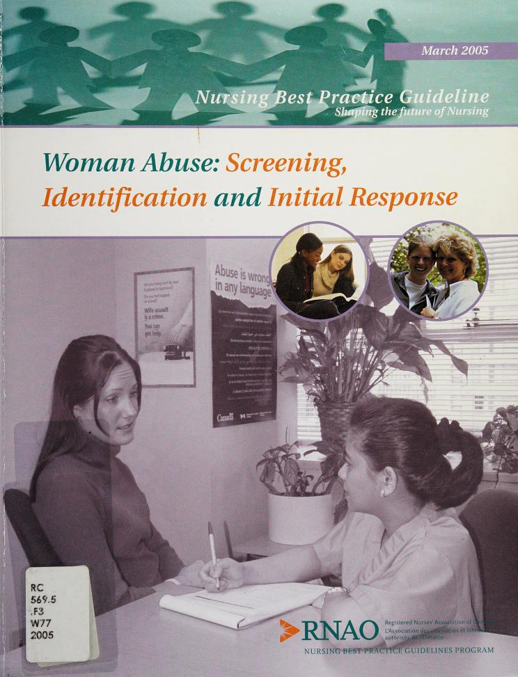 Woman abuse by program team, Tazim Virani ... [et al.].